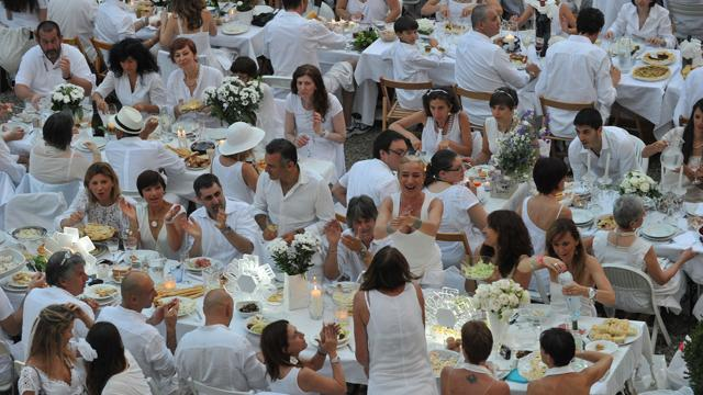 Cena in Bianco a Monza e a Milano