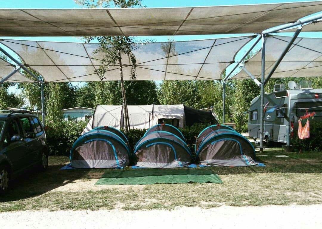 Qui, Quo e Qua in tenda