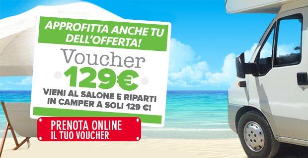 prova un camper con 129 euro!