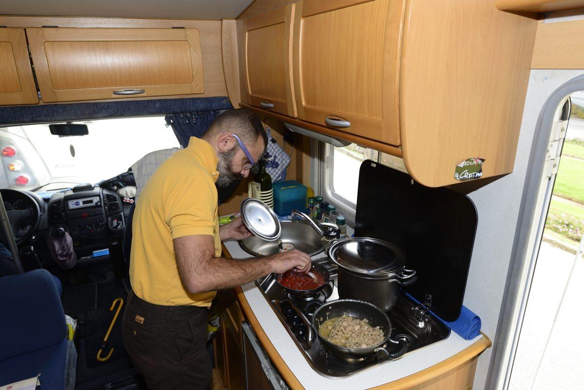 Tre ricette con Laura ai fornelli sul camper