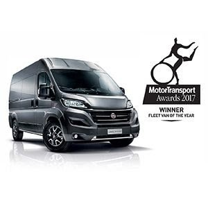 "Fiat Ducato eletto ""Fleet Van of the Year 2017"" in Gran Bretagna"