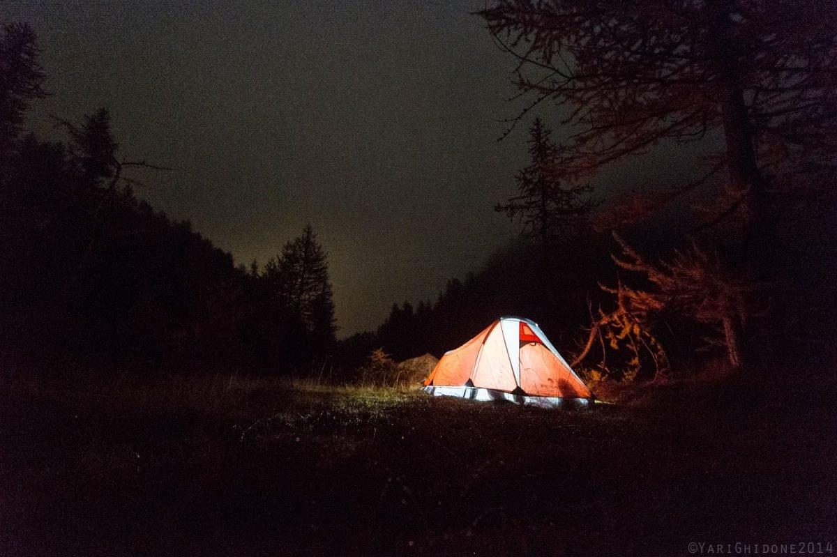Dormire in tenda: qualche consiglio