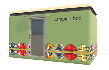 Camping box: InBOxLifestyle