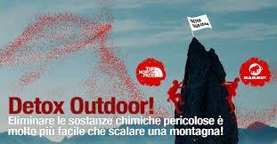 Campagna Detox per abbigliamento e outdoor