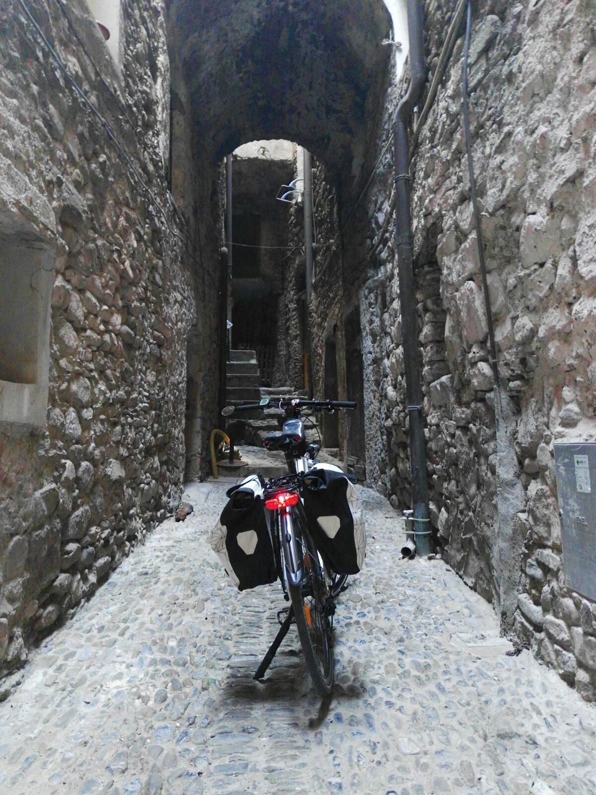 Liguria in bici: da Ventimiglia a Dolceacqua