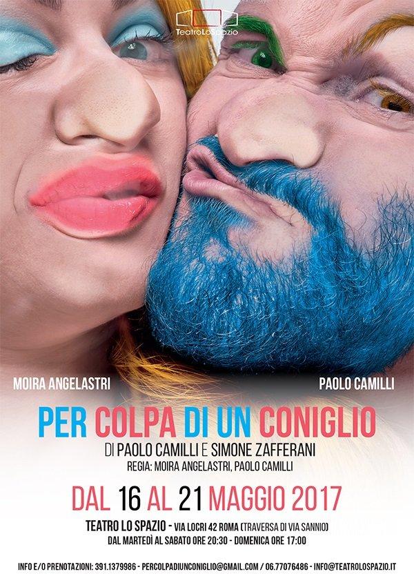 Per colpa di un coniglio: a teatro a Roma