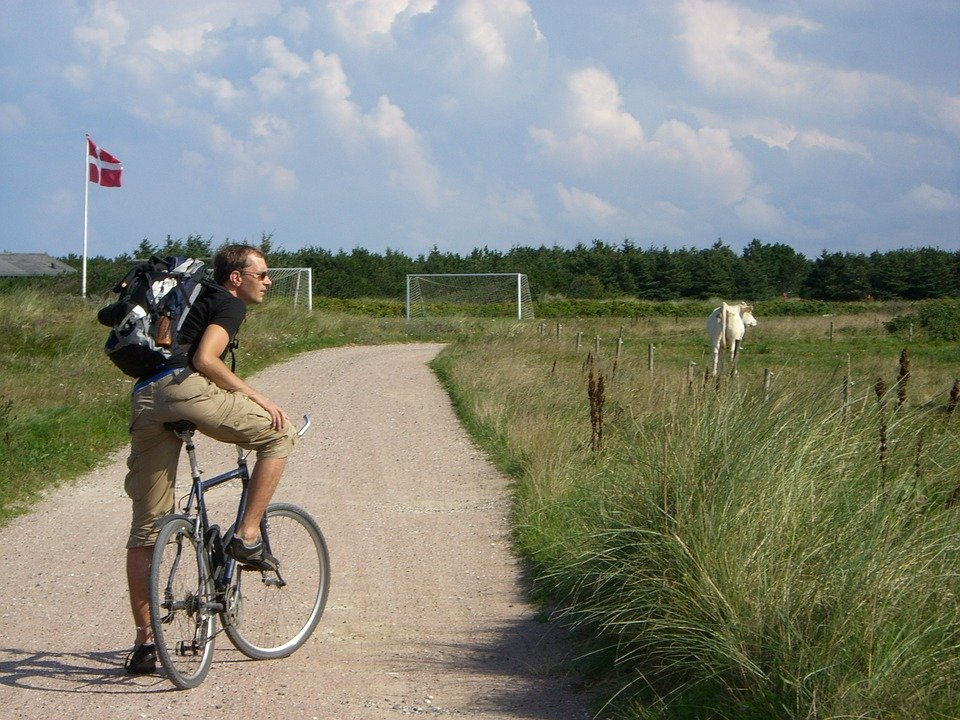In bici in Emilia