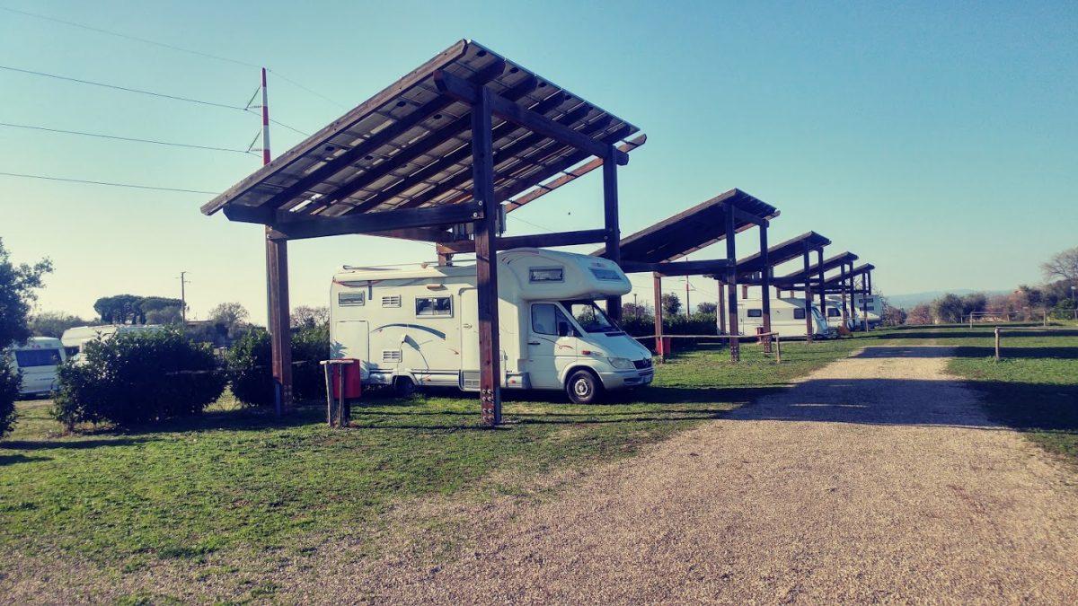 In camper a Viterbo