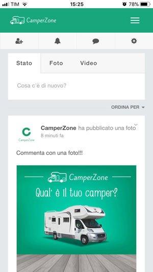 Camperzone: il social network per i camperisti