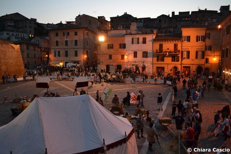 Palio di San Floriano a Jesi (An): raduno con il Club di Vallesina