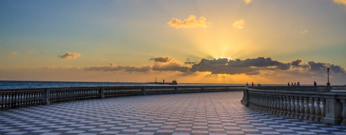 Livorno: un palco sul mare