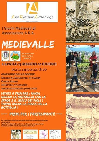 Medievalle 2018 ai Laghi di Avigliana (To)