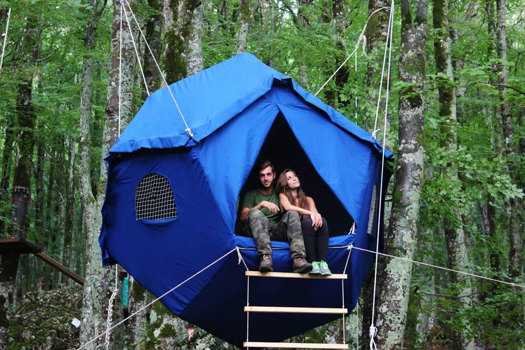 La Tenda sull'albero