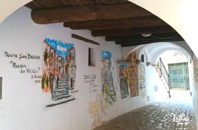 Monte San Biagio: terra di confine