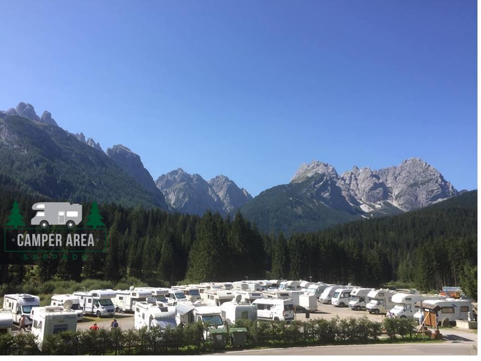 Area Camper Sappada (UD): comoda per sciare e camminare