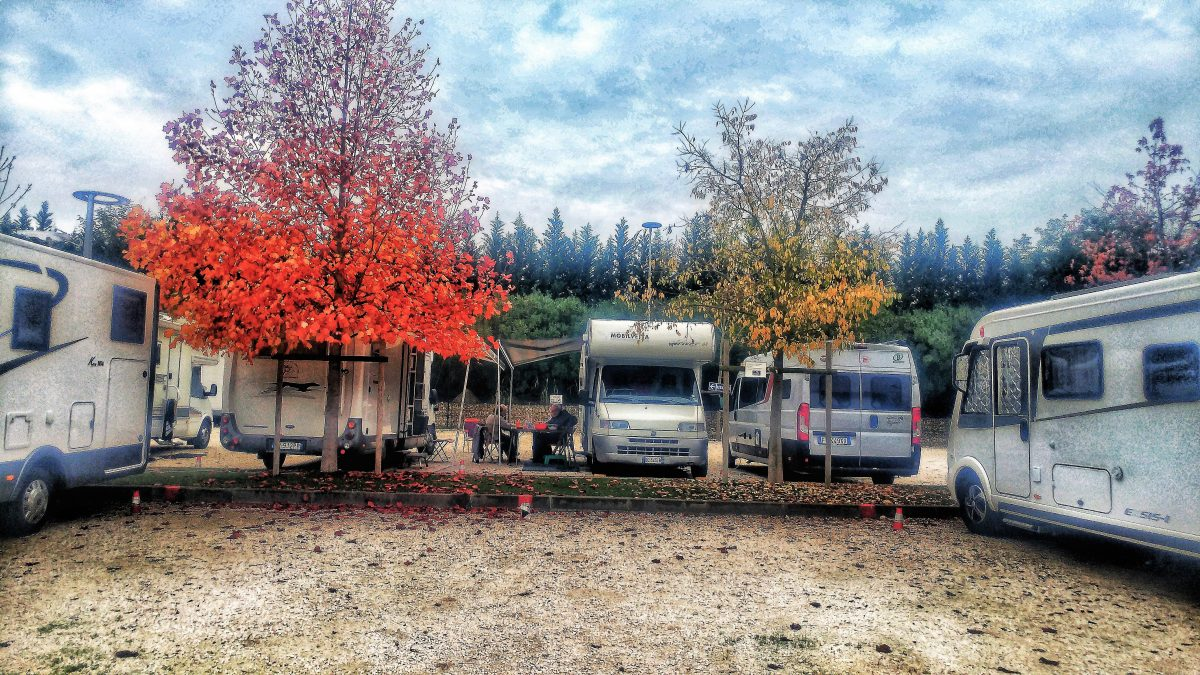 Area Camper Peschiera del Garda: comoda e pratica